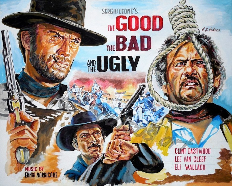 The Good, The Bad and The Ugly art work