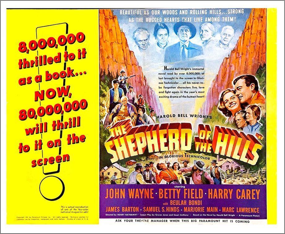 Shepherd of the Hills poster
