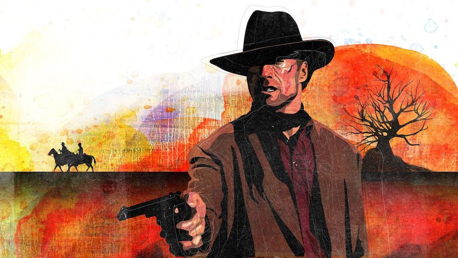 Unforgiven with Clint Eastwood poster
