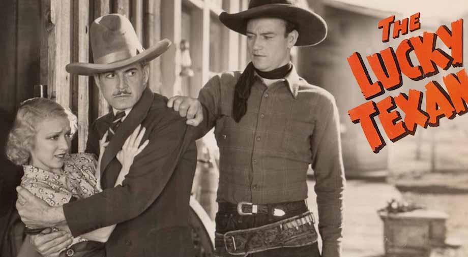 John Wayne in The Lucky Texan