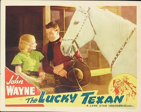 John Wayne in The Lucky Texan