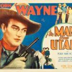 The Man From Utah poster