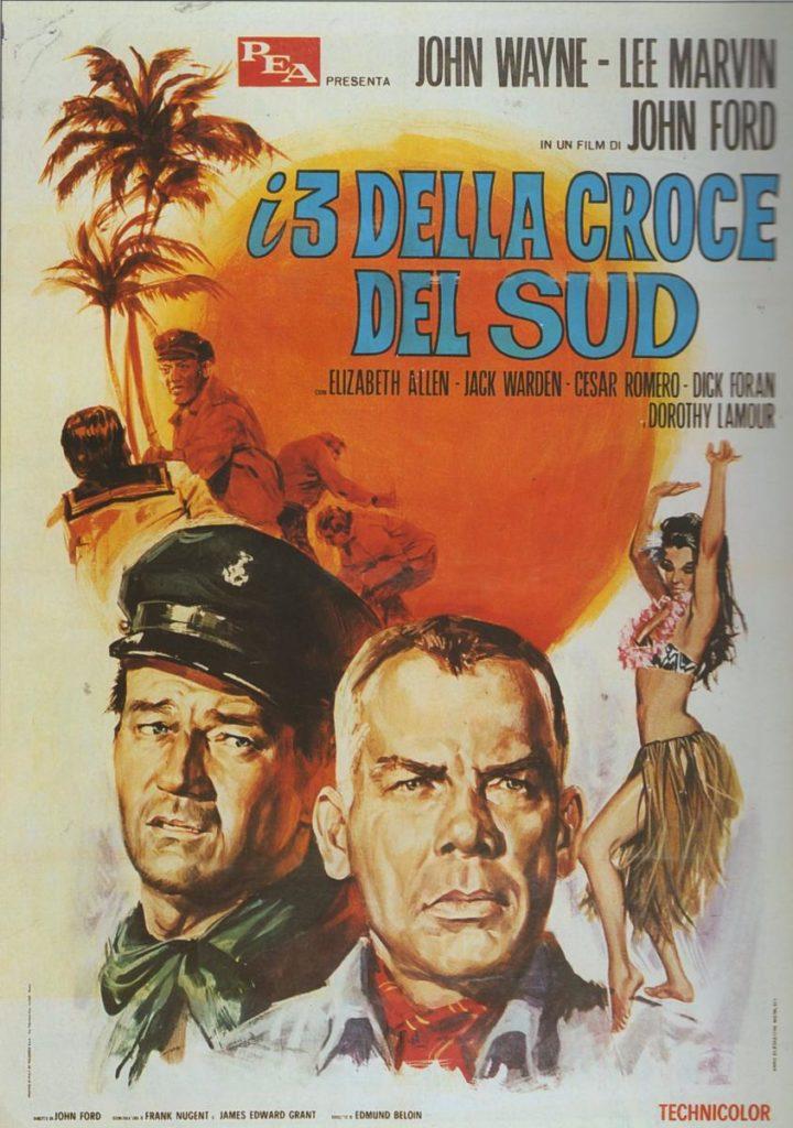John Wayne foreign movie poster Donovans Reef