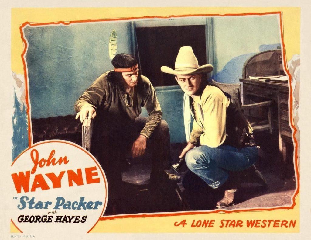 Lobby card for Star Packer with John Wayne