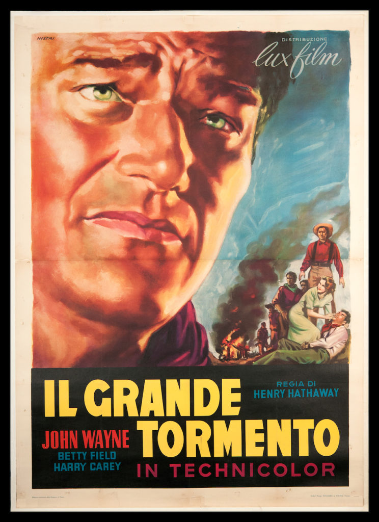 POster of John Wayne in Il Grande Tormento The Great Torment or The Shepherd of The Hills
