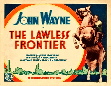 John Wayne & Gabby Hayes in The Lawless Frontier