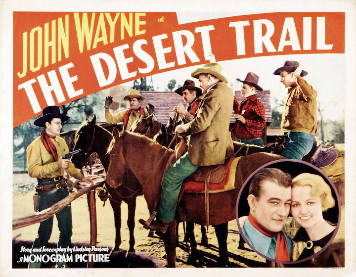 John Wayne in The Desert Trail