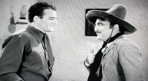 John Wayne & Gino Corrado in Paradise Canyon