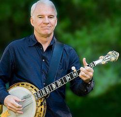 steve martin banjo playing