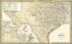 texas western map