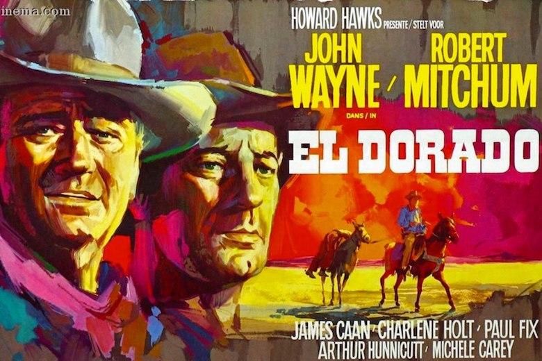 El Dorado poster with John Wayne