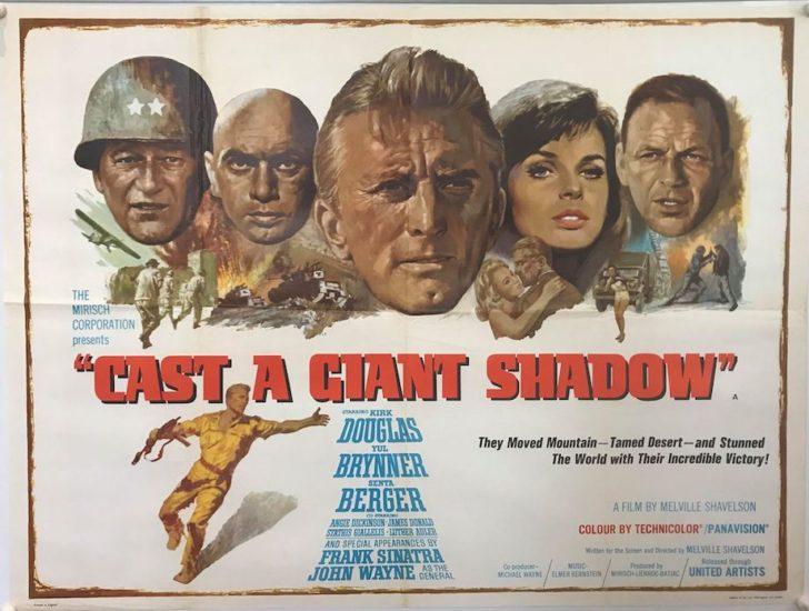 Cast a Giant Shadow with John Wayne