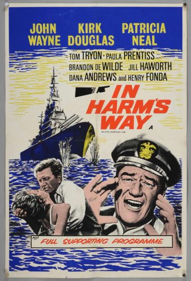 Poster of In Harm's Way with John Wayne & Henry Fonda