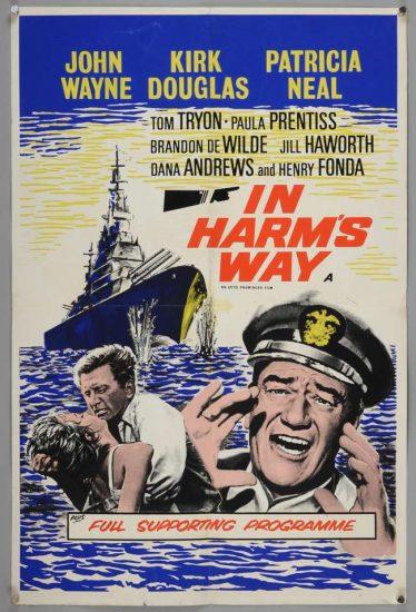 Poster of In Harm's Way with John Wayne & Henry Fonda