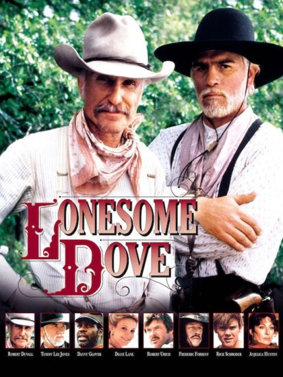 "Poster for ""Lonesome Dove"""