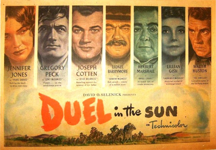 Movie poster for Duel in the Sun