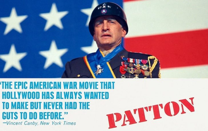 Movie poster for Patton