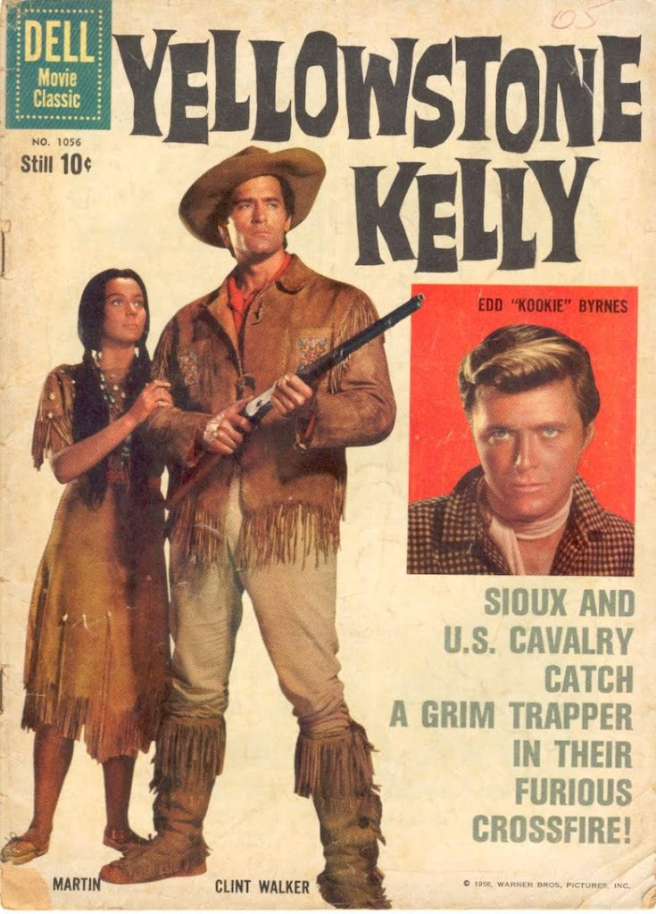 Movie poster for Yellowstone Kelly