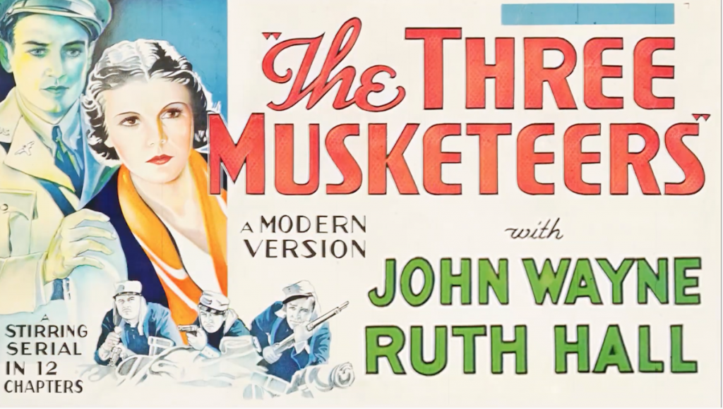 Three Musketeers poster for the series